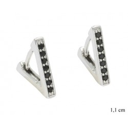 Kolczyki Xuping rodowane - MF9523