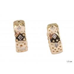 Kolczyki Xuping pozłacane 18k - MF10825