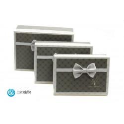 Zestaw pudełek ozdobnych 3 sztuki - 501609-1