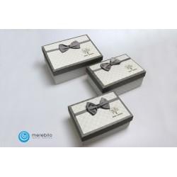 Zestaw pudełek ozdobnych 3 sztuki - 501609-2