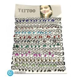 Naszyjnik - tatuaż - 202581