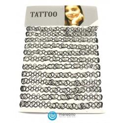 Naszyjnik - tatuaż - 202583