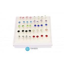 Kolczyki sztyfty silikonowe - 504790-2