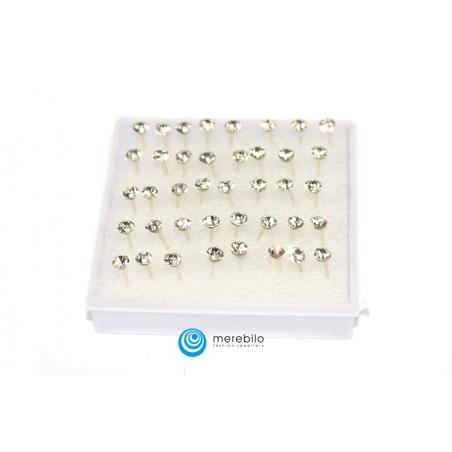 Kolczyki sztyfty silikonowe - 504790-1