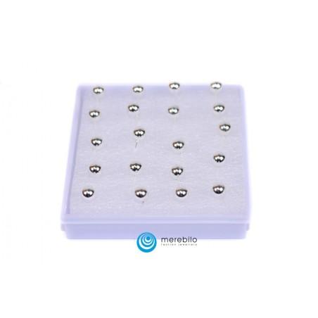 Kolczyki sztyfty silikonowe - 504786-1