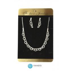 Komplet biżuterii dżetowy - 206903A-1