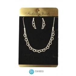 Komplet biżuterii dżetowy - 206903A-2