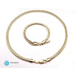 Naszyjnik + bransoletka Xuping - 208533