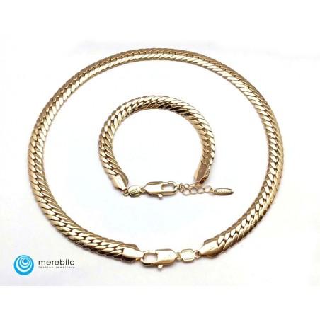 Naszyjnik + bransoletka Xuping - 208534