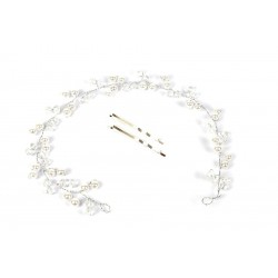 Ozdoba ślubna - Tiara - 7985-1