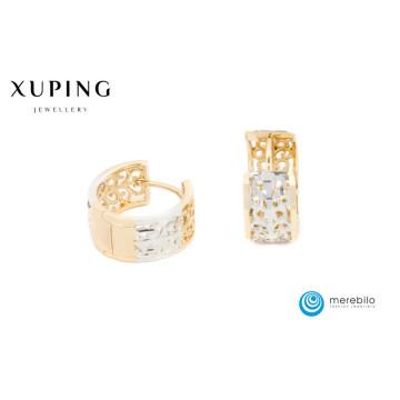 Kolczyki Xuping 15 mm - 9852
