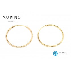 Kolczyki Xuping 40 mm - 9819-2
