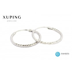 Kolczyki Xuping 25 mm - 9821-1