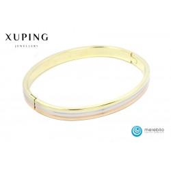 Bransoletka pozłacana 18k - Xuping - 507268