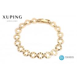 Bransoletka pozłacana 18k - Xuping - 9202