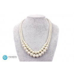 Naszyjnik perłowy - FM4434-1