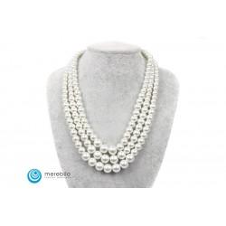 Naszyjnik perłowy - FM4436-1