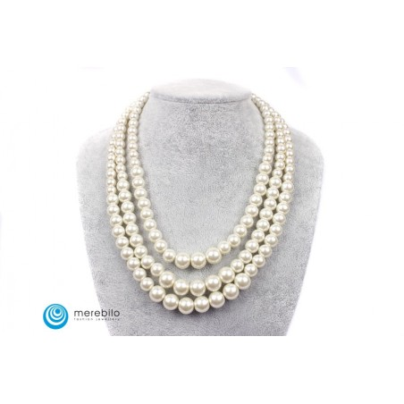 Naszyjnik perłowy - FM4436-2