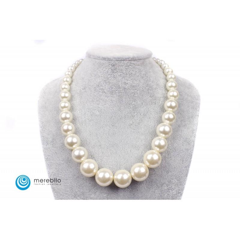 Naszyjnik perłowy - FM8596-1