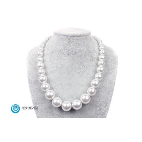 Naszyjnik perłowy - FM8596-2