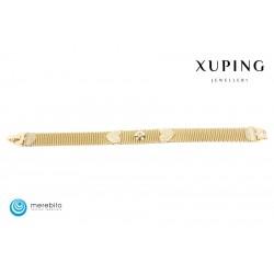 Bransoletka pozłacana 18k - Xuping - FM10960