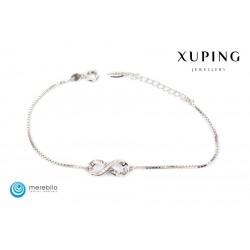 Bransoletka rodowana - Xuping - FM11420