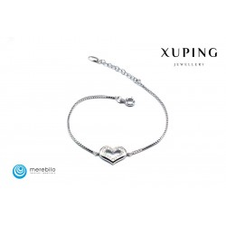 Bransoletka rodowana - Xuping - FM12065