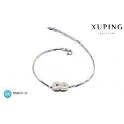 Bransoletka rodowana - Xuping - FM12067