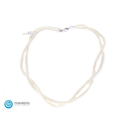 Naszyjnik perłowy - FM4438-2