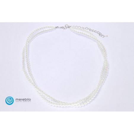 Naszyjnik perłowy - FM4438-1