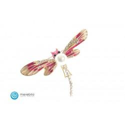 Biżuteria sztuczna Broszka - ważka - FM11472-2