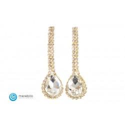 Biżuteria sztuczna Kolczyki dżetowe - FM11635-1