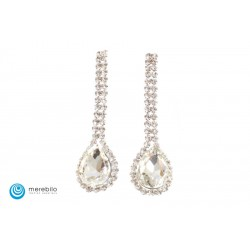 Biżuteria sztuczna Kolczyki dżetowe - FM11635-2