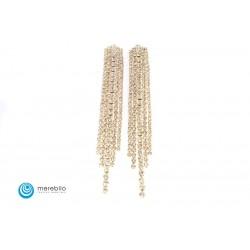 Biżuteria sztuczna Kolczyki dżetowe - FM11637-1