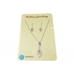 Komplet biżuterii dżetowy - FM11649-1