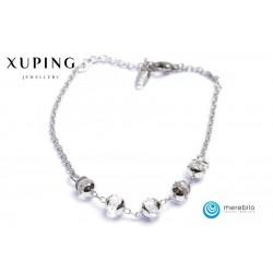 Bransoletka rodowana - Xuping - FM12659