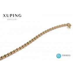 Bransoletka pozłacana 18k - Xuping - FM12643