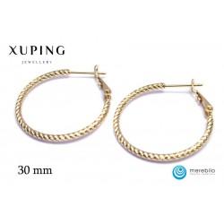 Kolczyki Koła Xuping - FM12147-2