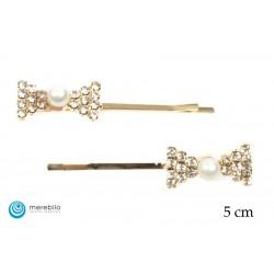Wsuwki do włosów perłowe - FM12854-1
