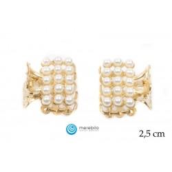 Łapacze do włosów perłowe - FM12824