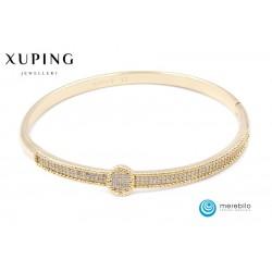 Bransoletka pozłacana 18k - Xuping - FM13694