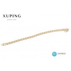 Bransoletka pozłacana 18k - Xuping - FM13715
