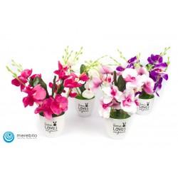 Kwiaty sztuczne - Storczyki -  FM12405