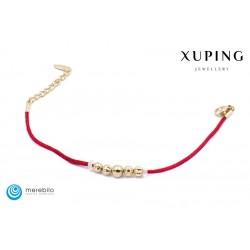 Bransoletka pozłacana 18k - Xuping - FM13929-2