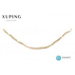 Bransoletka pozłacana 18k - Xuping - FM13994