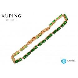 Bransoletka pozłacana 18k - Xuping - MF0646