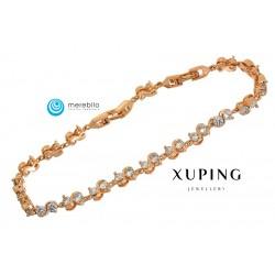 Bransoletka pozłacana 18k - Xuping - MF0631