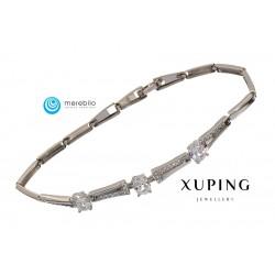 Bransoletka rodowana - Xuping - MF0648
