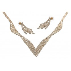 Komplet biżuterii dżetowy - MF0445A-2