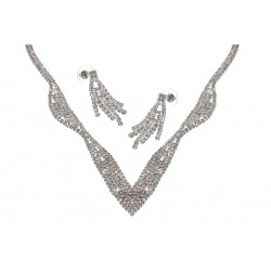 Komplet biżuterii dżetowy - MF0445A-1